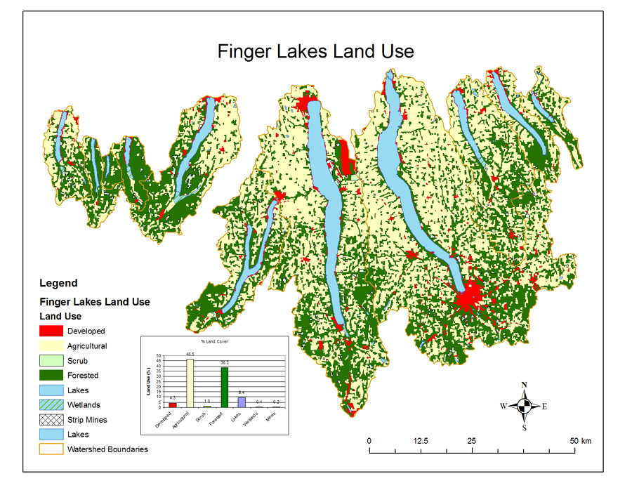Finger Lake Maps